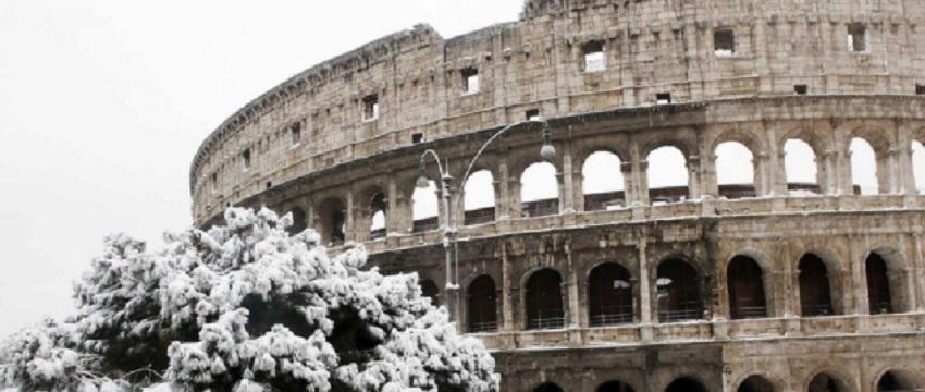 Allerta Neve e Meteo oggi e domani: Roma innevata, il Burian colpirà l'Italia fino a venerdì. Segui le previsioni in tempo reale sul nostro portale