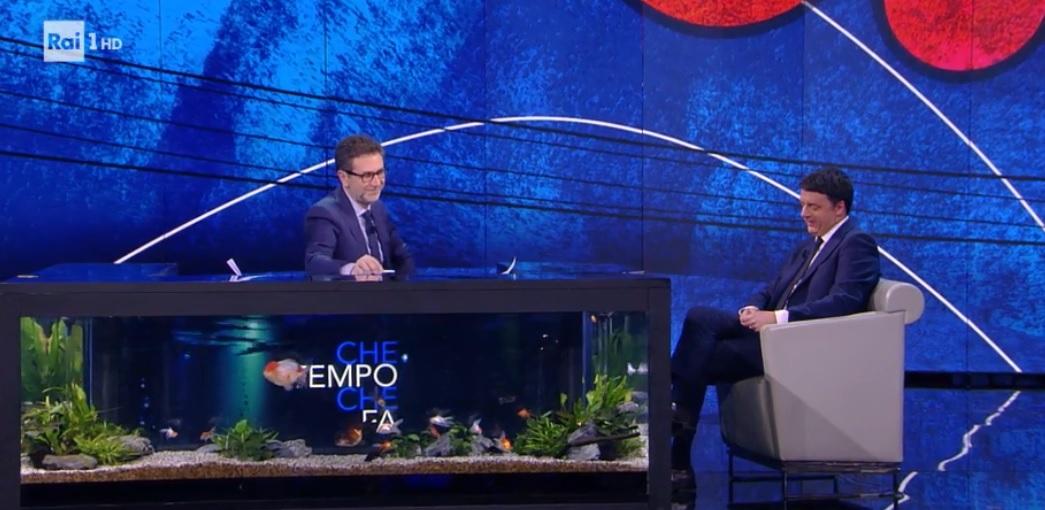 Che Tempo che fa 25 febbraio: Matteo Renzi e Roberto Saviano da Fabio Fazio in una puntata molto ricca di tematiche ed ospiti