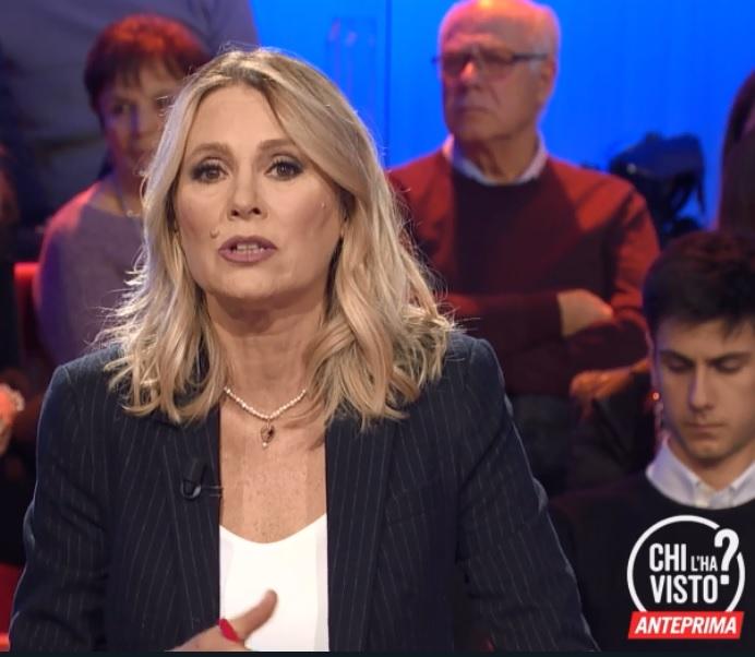 Chi l'ha visto? 7 marzo, Replica: Federica Sciarelli su Rosa, Rapposelli e Marco Boni, i maggiori casi della settimana trattati