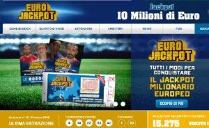 Estrazione Eurojackpot di oggi venerdì 30 marzo 2018: jackpot da 10 milioni, i Numeri Vincenti. Jackpot milionario della lotteria Europea denominata Eurojackpot con un montepremi da 10 milioni di euro valido per tutta l'Europa.
