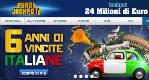 Eurojackpot Estrazione oggi venerdì 13 aprile 2018: jackpot 24 milioni. ScopriNumeri Vincenti della combinazione. Jackpot milionario della lotteria Europea denominata Eurojackpot con un montepremi da 24 milioni di euro valido per tutta l'Europa.