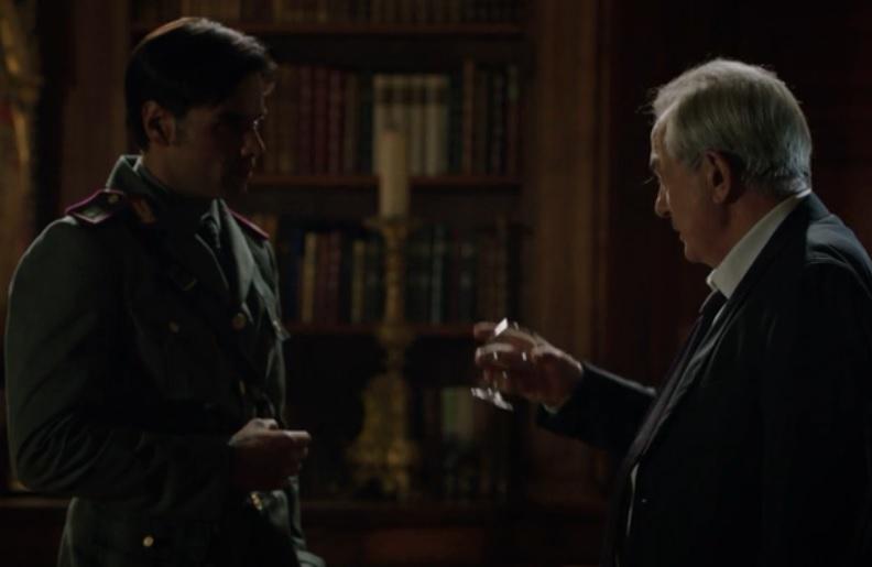 Furore 2 Replica episodio 7. Dopo l'incidente causato dallo choc di aver scoperto che Calligaris è il suo vero padre, Franco viene dichiarato fuori pericolo dai medici che lo hanno in cura.