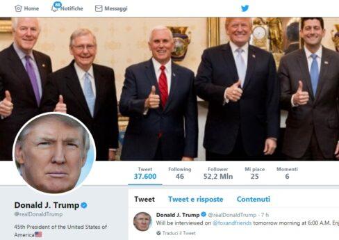 Donald Trump: avvia indagine import Auto ma intanto non potrà bloccare utenti su Twitter. Donald Trump da oggi non potrà mai più bloccare gli utenti che lo criticano su Twitter. Per la giudice del Tribunale di New York non si tratta di profilo personale ma di politico ufficiale.