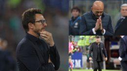 Di Francesco Spalletti Gattuso in bilico