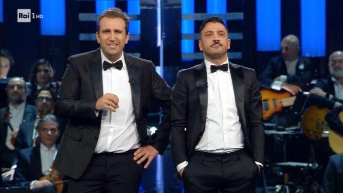 Nella seconda serata del Festival di Sanremo grande show di Pio e Amedeo