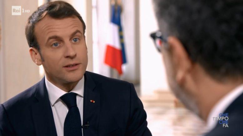 Che Tempo che fa 3 marzo 2019: l'intervista esclusiva di Fabio Fazio al Presidente della Repubblica Francese Emmanuel Macron.