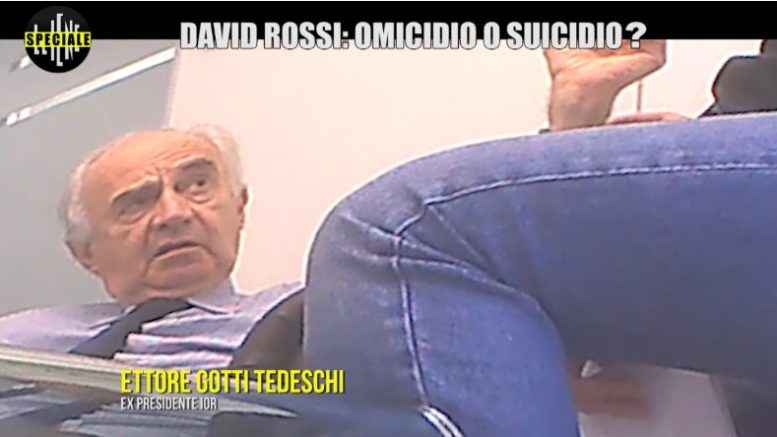 David Rossi: lo speciale de Le Iene, rivelazioni choc nel corso dei sei episodi del programma in esclusiva