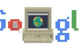 Google ricorda la nascita del WWW con un doodle celebrativo