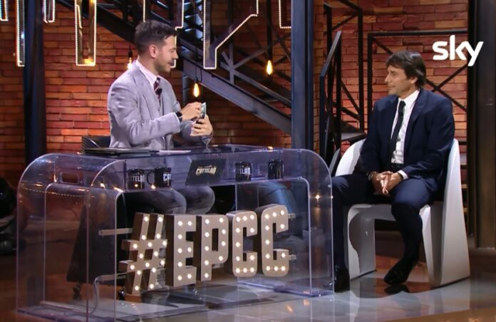 Antonio Conte: a EPCC sceglie 3 possibili squadre. Ospite della seconda puntata del programma E poi c'è Cattelan, in onda questa sera su Sky Uno