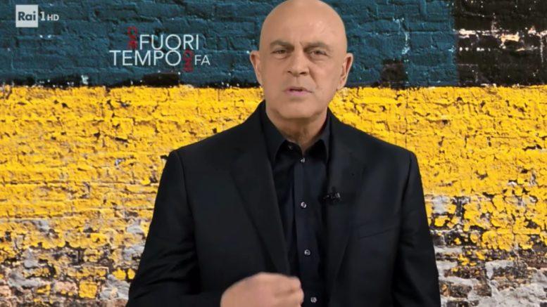 """Crozza Che fuori tempo che fa: """"Salvini, cambia idea sul caso Cucchi"""". Il comico alla fine della sua copertina invita Salvini a cambiare idea"""