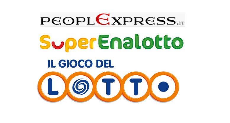 Estrazioni Superenalotto, Lotto 16 aprile: i numeri vincenti delle lotterie. Il Jackpot del Superenalotto è salito a 136,7 milioni di euro.