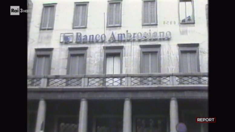 """Report 1 aprile, nell'inchiesta intitolata """"L'onnipotente"""", sono stati mostrati documenti inediti su Ubi Banca. Tornano gli """"spettri"""" del Banco Ambrosiano."""