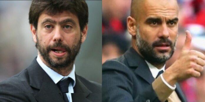 Calciomercato Juventus: Agnelli ha deciso di portare avanti l'assalto al tecnico del Manchester City, Pep Guardiola. Sarri verso altre destinazioni
