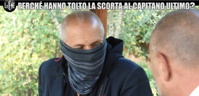 Capitano Ultimo senza scorta: