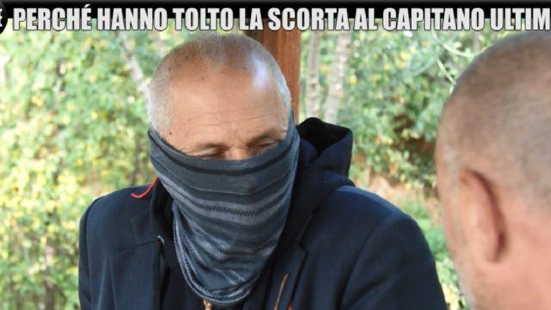 """Capitano Ultimo senza scorta: """"Ho arrestato Riina, potrei morire ogni giorno"""""""