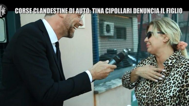 Tina Cipollari è stata vittima di un terribile scherzo de Le Iene. Il figlio Mattia sarebbe coinvolto in gare clandestine, lei corre a denunciare
