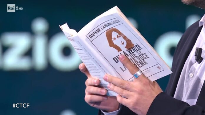 Daphne Caruana Galizia, importante esclusiva sulla giornalista a Che tempo che fa di ieri, domenica 13 ottobre 2019.