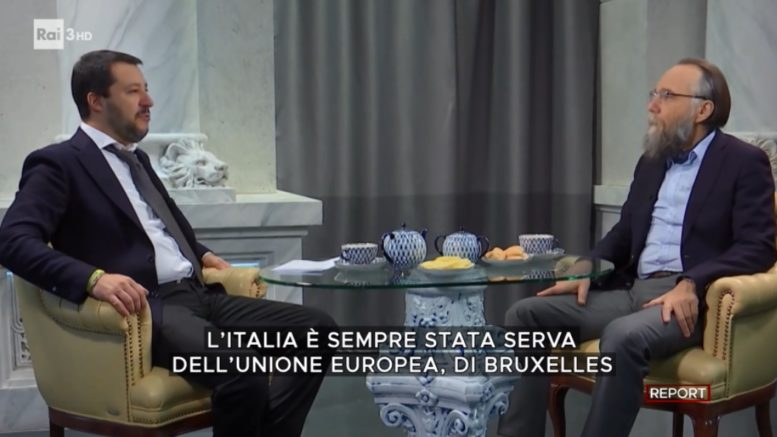 Report 21 ottobre riparte con grandi inchieste, una di queste quella che riguarderebbe l'ex ministro Salvini