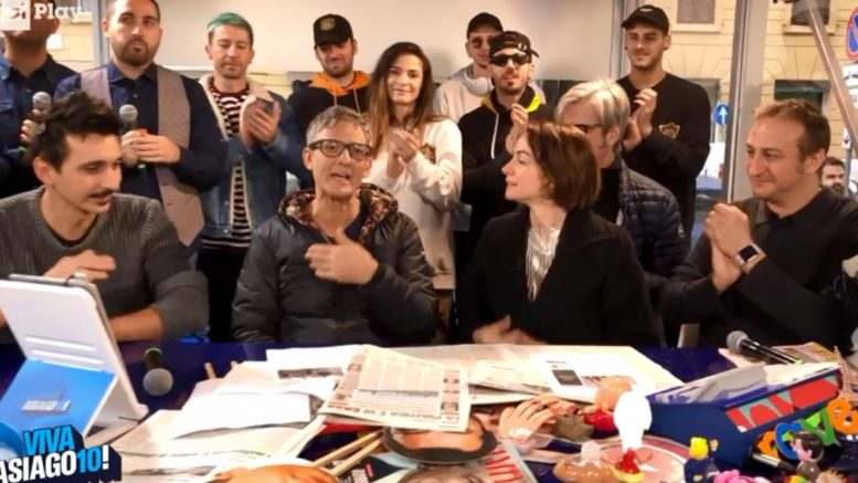 Quarta Puntata dell'anteprima di Viva Raiplay, Viva Asiago10, andata in onda questa mattina, mercoledì 20 novembre direttamente sulla piattaforma digitale della Rai.