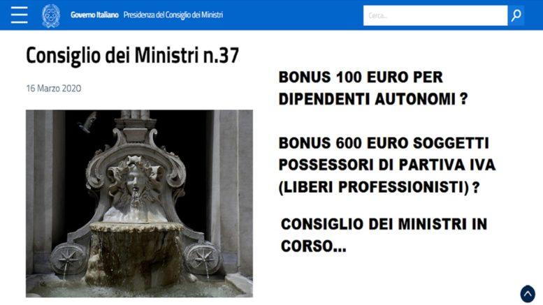 Coronavirus: bonus 600 euro partita Iva, chi può richiederlo, come si richiede, cosa prevede il decreto