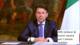 il premier conte ha annunciato aiuti per quasi 5 miliardi nell'emergenza coronavirus
