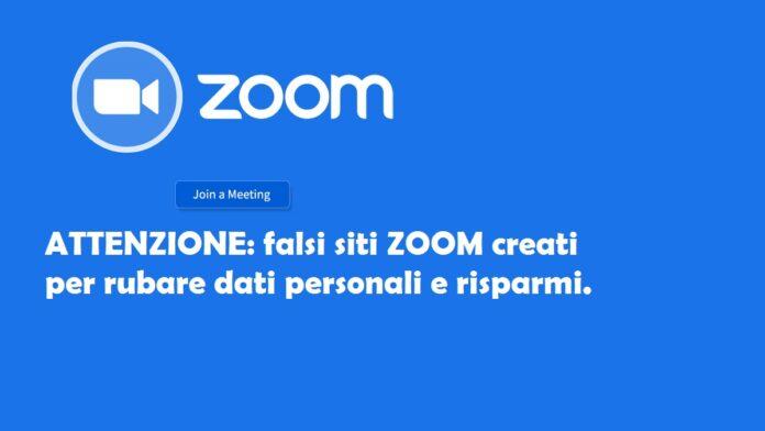 truffe online falsi siti zoom