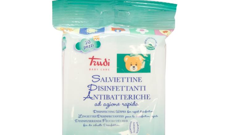 esselunga richiama salviette antibatteriche trudi baby care
