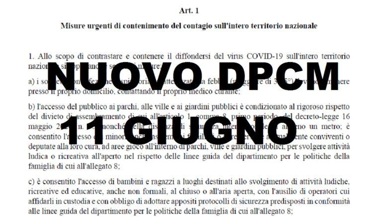 nuovo dpcm testo integrale fase 3