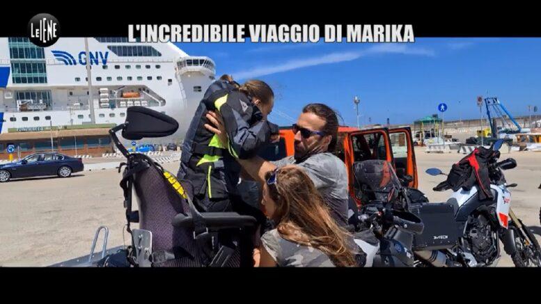 Le Iene-servizio l'incredibile viaggio di Marika - servizio di Matteo Viviani