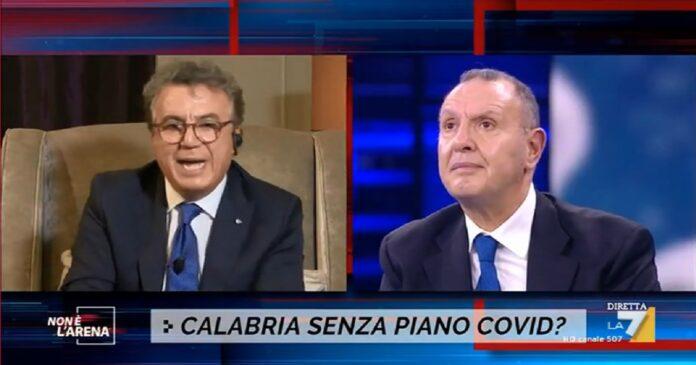 Non è l'Arena, Massimo Giletti: rissa in diretta Polimeni-Cotticelli