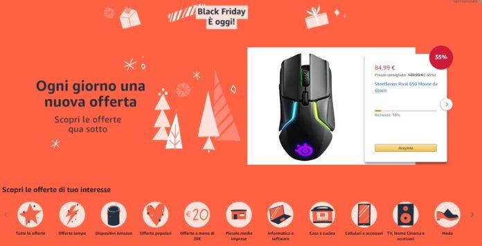 Offerte Black Friday Amazon, i veri sconti li offre l'azienda leader del mercato online