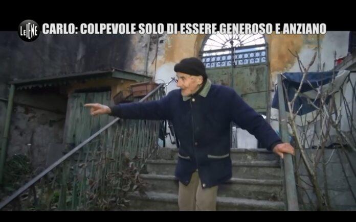 L'incredibile storia di Carlo raccontata dalle Iene nel servizio di Nina Palmieri VIDEO