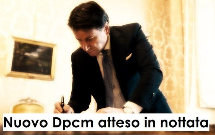 Bozza decreto nuovo dpcm 4 novembre 2020 #coprifuoco dalle 22 #COVID #Italia