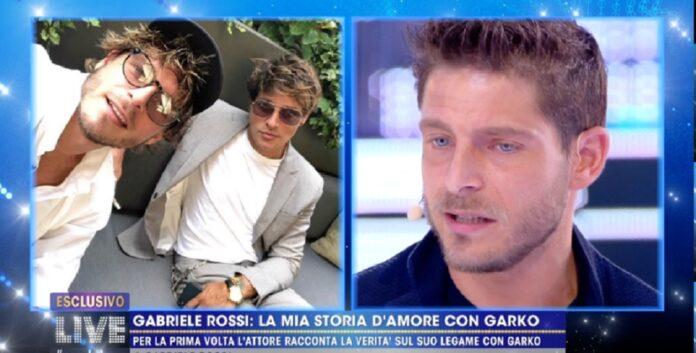 per la prima volta Gabriele Rossi parla in tv della sua storia con Gabriel Garko / Barbara D'Urso Live non è la D'Urso
