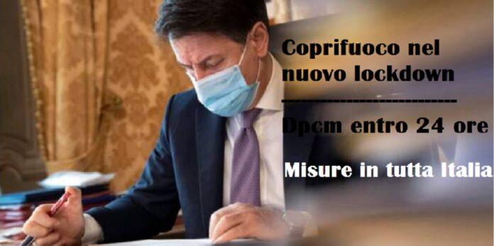 nuovo lockdown nel dpcm atteso entro le prossime 24, coprifuoco in tutta Italia?
