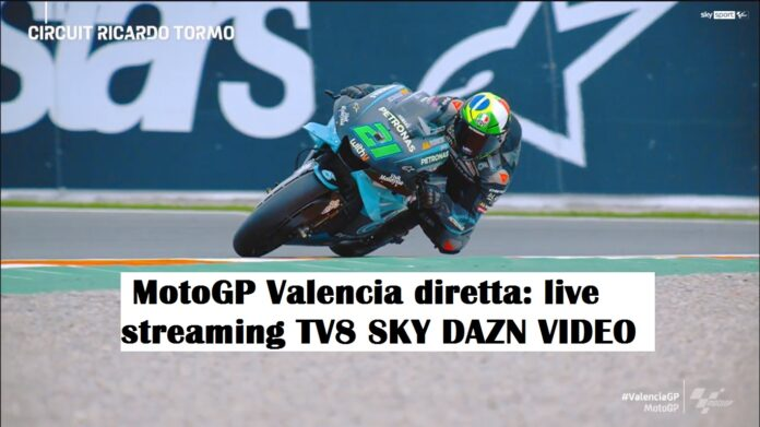 MotoGP Valencia diretta: live streaming TV8 SKY DAZN