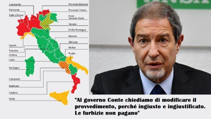 21 indicatori relegano la Sicilia in zona arancione nel nuovo Dpcm 4 novembre