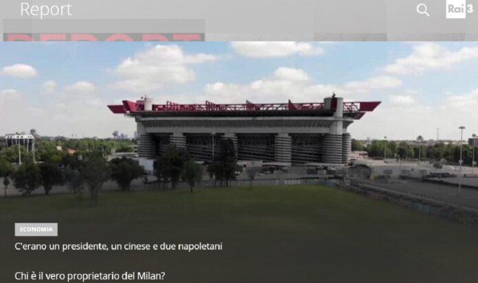 Inchiesta sui veri proprietari dell'AC Milan questa sera a Report