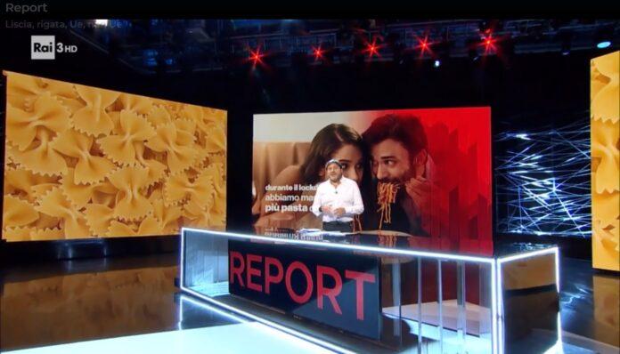 replica streaming puntata Report 2 novembre