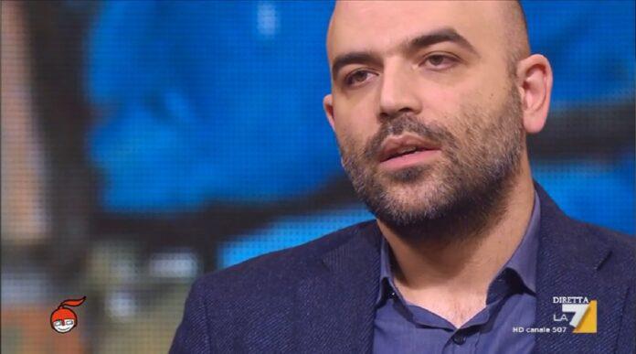 Roberto Saviano a DiMartedì critica il governo:
