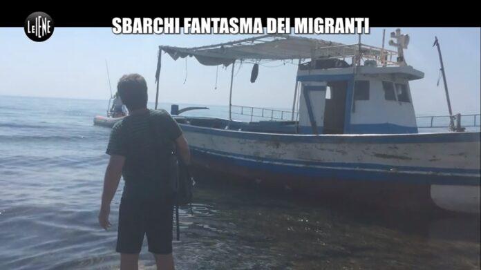 a Le Iene, Cristiano Pasca racconta degli sbarchi fantasma di migranti