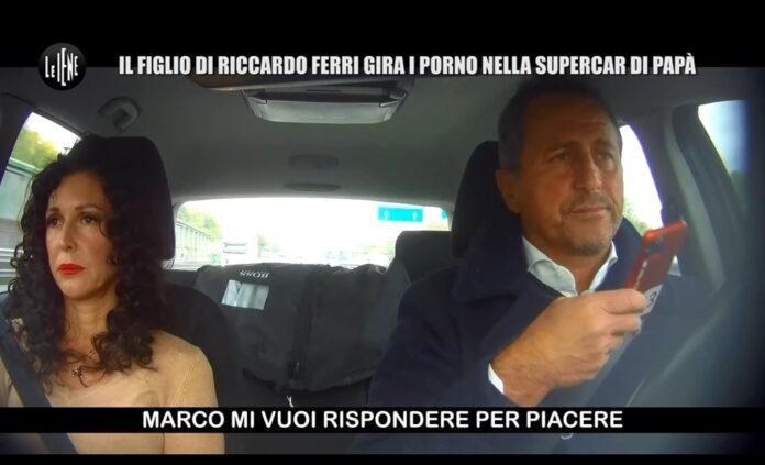 cattivo scherzo de le iene a Riccardo Ferri