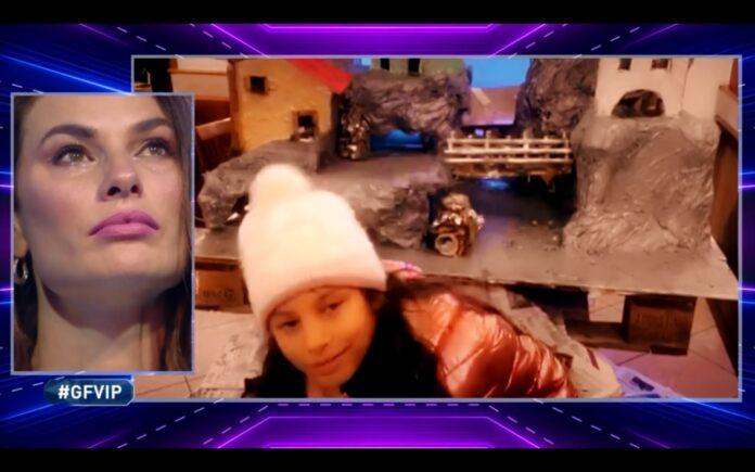 Dayane Mello commossa dal video messaggio della figlia Sofia al GF Vip del 23 novembre