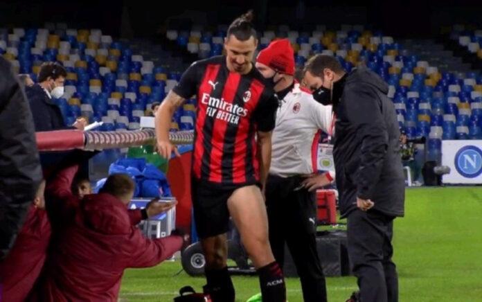 Milan, l'infortunio di Zlatan Ibrahimovic preoccupa, fra 10 giorni nuovi esami, si teme lungo stop