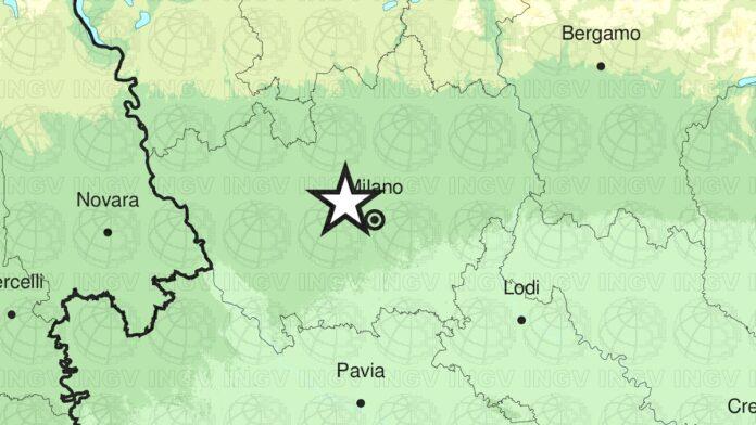 Scossa di terremoto magnitudo 3,9 alle porte di Milano