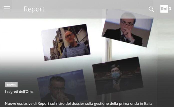 Anticipazioni Report esclusiva inchiesta sui segreti dell'OMS