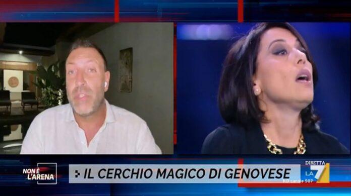 Ennesimo scontro in tv a Non è l'Arena fra Nunzia De Girolamo e Daniele Leali sul caso Alberto Genovese