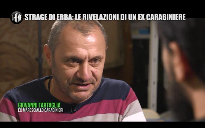 Strage di Erba, esclusiva testimonianza raccolta dalle Iene, ha parlato con Antonino Monteleone un ex carabiniere