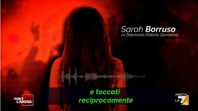 Caso Genovese a Non è l'Arena, audio choc della ex fidanzata di Alberto