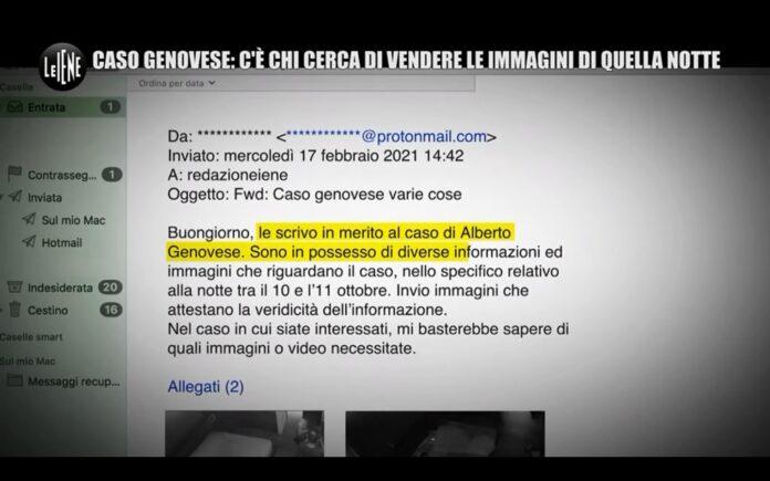 Immagini inedite in vendita, servizio di Stefano Corti a Le Iene sul caso Genovese